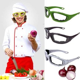 Wholesale onion glasses - Protective Glasses Black Onion Goggles Tear Free Slicing Cutting Chopping Mincing Eye Protect Glasses Spectacles