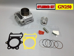 Wholesale Boring Cylinder - Free Shipping for Suzuki GN250 Motorcycle Cylinder bore size 72mm cylinder liner made of high-boron cast iron material, piston Gao Gui NEW