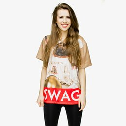 2019 swag girl T,shirt Femme SWAG SLOTH 3D Full Print Girl Taille Gratuite  Stretchy