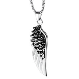 b3dc2f8f9c738 Wholesale Mens Angel Wing Necklace - Buy Cheap Mens Angel Wing ...