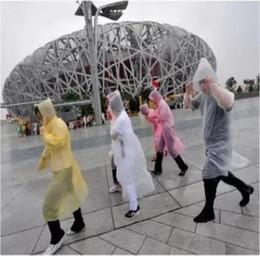 Wholesale outdoor raincoats - Essential Travel Equipment Adult Emergency Disposable Raincoat Outdoor Fashion Disposable PE Raincoats Poncho Rainwear CCA9177 2000pcs