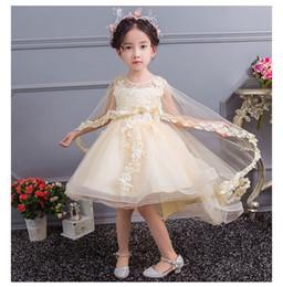 021ff1348c6 Discount little girls dress stockings - flower girl dresses New Arrive  White Tulle Shawl Children Ball