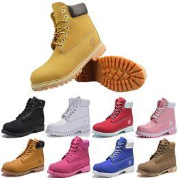 2019 sneakers marron pour femmes Bottes originales Hommes Designer chaussure Rouge brun Timberland Hiver hommes sport Sneaker TBL Baskets Casual Hommes Femmes Marque De Luxe botas EXTÉRIEUR promotion sneakers marron pour femmes