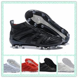 Wholesale football cleats sale - Hot sale Cheap Predator Accelerator DB Capsule FG Soccer Cleats Mens High Quality Football Boots sneakers Size 39-46