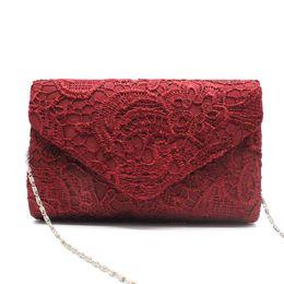 2019 bolsas de renda rendas Mulheres Evening Bag 2018 Partido Banquete Rendas Floral Bag Para Mulheres Meninas Embreagens de Casamento Bolsa Cadeia Ombro bolsas de renda rendas barato