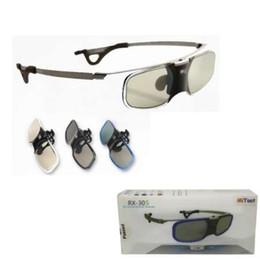 7fe4b32f3 NEW MITOOT Óculos de DLP Óculos de Obturador Ativo 3D DLP para BenQ Z4 / H1  / G1 / P1 LG, NUTS, Acer, Optoma DLP-LINK projetores com clipe de Miopia