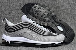 Wholesale big size shoes cheap - Big Size 40-46 Men Sport Shoes Zapatillas Hombre 97 KPU Plastic Cheap Training Shoes Fashion Wholesale Outdoor 97 Running Shoes