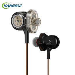 Wholesale wire units - i8 Earphones 3 Unit Drive I-INTO I8 Dynamic Earphone HIFI Stereo Bass DJ Muisc Sport Headset for xiaomi for iphone computer