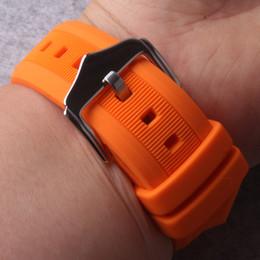 2019 correa de reloj de 14mm Correa de reloj 12mm 14mm 16mm 18mm 19mm 20mm 22mm 24mm Negro Blanco Rojo Naranja Azul Silicona Buceador Buceador Correas de banda impermeable rebajas correa de reloj de 14mm