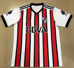 Wholesale Mora Black - 2017 River Plate Soccer Jersey Rodrigo Mora Football Shirt 17 18 Sanchez VALDIVIA MEDEL VIDAL soccer jersey ALEXIS high quality