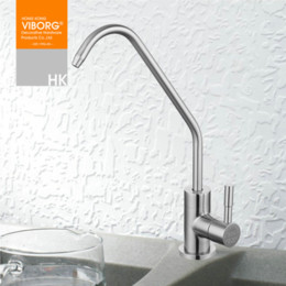 Wholesale Filter Filtration - Viborg 304 Stainless Steel Lead-free Kitchen Drinking Water Filter Faucet Filtration System Purifier Tap for Filtered Water 403