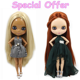 Wholesale Nude Dolls - Special Offer Factory Fashion Nude Blyth Doll, Joint& Normal Body on sale DIY toys Free shipping