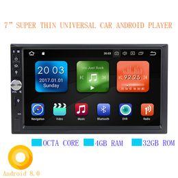 "Wholesale Toyota Dvd Gps Player - Super thin 7"" Car DVD GPS android 8.0 Player 2 din radio New universal GPS Navigation Multimedia For Nissan Toyota Volkswagen Mazda Kia"