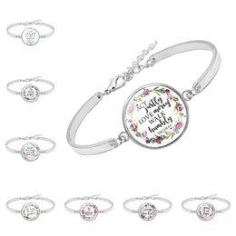 Библейский браслет Священного Писания 15 стилей серебряный цвет цитаты Писание вера браслет Творческий подарок для христианина от