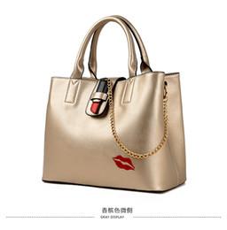 En gros 2018 New European et American Ladies Sac Mode Lèvres Simple Portable Big Bag Épaule Messenger Bag ? partir de fabricateur