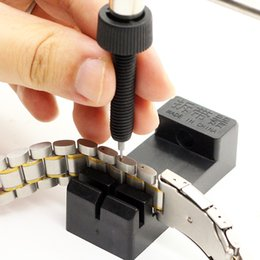 Canada ABS haute résistance !!! Lien de bande de montre ajuster l'outil de réparation de régleur de chaîne de bracelet de bracelet de fente pour les hommes / femmes Watch Offre