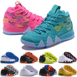 d69b4875e37b IV Green Lucky Charms Mens 2018 All New Basketball Shoes For sale Irving 4  Sports Training Sneakers Wholesale Drop Ship