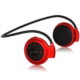 Микро-гарнитура bluetooth гарнитура онлайн-Складные мини-беспроводные наушники Bluetooth 503 Спортивная музыкальная стереогарнитура с поддержкой Micro TF Card Ear-Hook Headset DHL