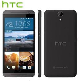 Octa core smart phones 5,5 polegadas on-line-Recondicionado desbloqueado HTC One E9 E9W 4G LTE Dual SIM 5.5 polegadas Octa Core 2GB RAM 16GB ROM 13MP Câmera Androd Smart Phone Free DHL 1pcs