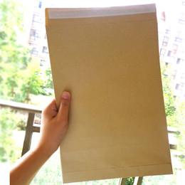 Canada 30 pcs Kraft Enveloppes Auto-Adhésif Blanc Enveloppe Grande Taille Papeterie Cadeau Carte Photo Lettre De Stockage Bureau Fournitures Scolaires Offre