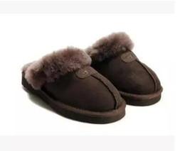 Alta qualidade Austrália WGG Chinelos de algodão quente Homens e mulheres chinelos Botas curtas Botas femininas Botas de neve chinelos Bota de couro de