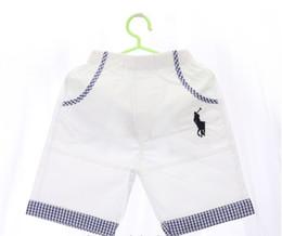 nuovi vestiti di stile Sconti 2018 New Pattern Abbigliamento per bambini Moda Boy Baby Shorts Estate stile europeo vestiti per bambini di alta qualità alla moda