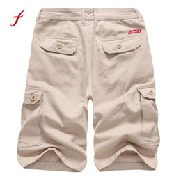 2fe47af8d4b Men s Casual 2018 Pure Color Outdoors Pocket Trouser Cargo Shorts bermuda  masculina Casual Brand men shorts modis affordable plus size 4xl cargo  shorts