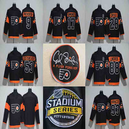2017 Stadium Series Jersey 9 Ivan Provorov 88 Eric Lindros 93 Jakub Voracek  17 Wayne Simmonds 53 Shayne Gostisbehere 28 Claude Giroux Jersey dbb027720