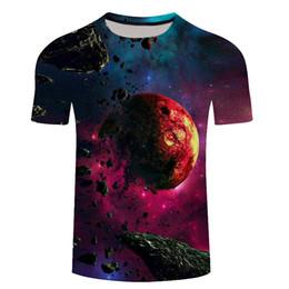 espaço da galáxia camiseta Desconto