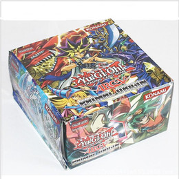 Wholesale Gift Card Trading - 36 bags of 288   set YUGIOH BATTLE DISK Yugioh ACADEMY ARM DUEL Card Seal Description The best gift YUGIOH cosplay Humanity card game