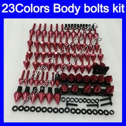 Wholesale Bmw Rr - Fairing bolts full screw kit For BMW S1000R S1000RR 09 10 11 12 13 14 S1000 RR 2009 2010 2011 13 2014 Body Nuts screws nut bolt kit 23Colors