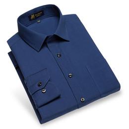 Wholesale Men S Linen Dress Shirts - 2018 New Fashion Men Cotton Linen Shirt Long Sleeve High Quality Social Slim Fit Smart Casual Soft Clothes Men Dress Shirt