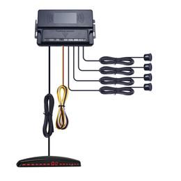 Wholesale parking aid sensors - LEEWA New 4-Sensor Ultrasonic Radar For Car Front Parking Aid System Assist #2063