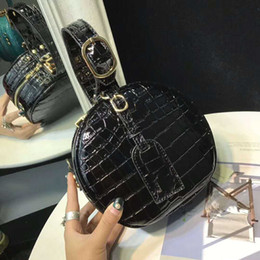 Wholesale Mini Stones - Fashion Luxury Designer Handbags Women Brand Designer Bags Stone Alligator Bag Europe's Top Show Womens Handbag Tote Size 14 *9*17