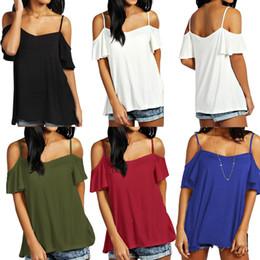 98fecb96fc3 Plus Size T Shirt Women Summer Basic T-shirt Off Shoulder Short Sleeve  Solid Casual Loose Top Oversized Tee Shirt Femme 5XL