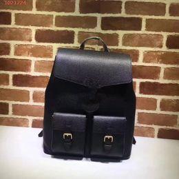 9165aae05a 2018 Nuovo zaino sportivo per il marchio di moda e tempo libero Zaino per  uomo in vera pelle semplice e di alta qualità