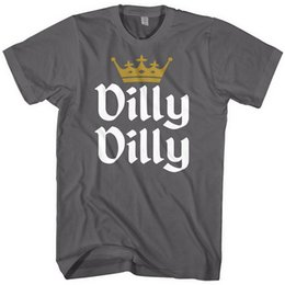 44c29931b3c 2018 New Dilly Dilly Funny Beer King Light Joke - Mens Cotton T-Shirt ST. Patrick s  Day   Gold Crown T-Shirt funny beer shirts promotion