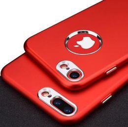 Apple i6 cubierta de metal online-Funda con teléfono para iPhone 7 7 Plus Funda de lujo de silicona suave + parachoques de metal EN LA Funda para iPhone 6 6S 8 Plus I6 I7