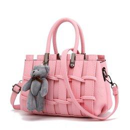 Bolsos blancos sólidos online-MONNET CAUTHY Bolsos mujer Concise Sweet Lady Leisure Moda Crossbody Totes Color sólido Lavender Pink Grey Black White Handbags