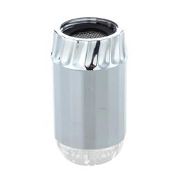 Wholesale Rgb Color Temperature - 3 Color Changing RGB Temperature Sensor LED Kitchen Faucet Sprayer Nozzle