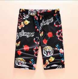 Wholesale Asian Slim Fit Size - Tiger Snake Clothing Mens Shorts 2017 Summer Fashion Casual Solid Slim Fit Short Pants Asian Size Men's Shorts