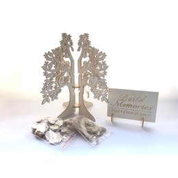 impronta digitale della pittura di nozze Sconti Segnale di nozze unico in legno Libro degli ospiti albero Visita Sign Guest Book Cuori di legno Decration di nozze