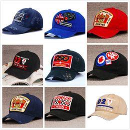 Wholesale rain man hip hop - ICON 2 embroidered Letters hat Adjustable Cotton Luxury brand Hip hop icon caps Leisure Baseball Hats men women 13 Styles 2018 newest
