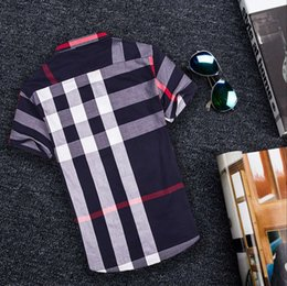 Wholesale Men Fitted Dress Shirt - 2017 New Men Dress Shirts Brand Clothing Fashion Camisa Social Casual Men Shirt twill Slim Fit short Sleeve Camisa Masculina