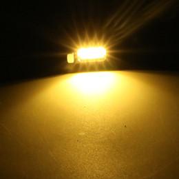 Lampe plaque d'immatriculation en Ligne-2pcs LED plaque d'immatriculation de la lumière de la lumière de la queue de moto automatique lampe 5630 SMD voiture-style vis boulon lampe blanc / blanc chaud