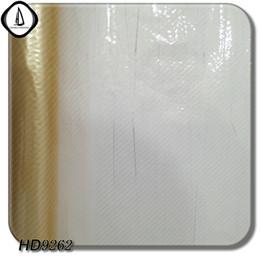 Wholesale Hydro Dip - Hydro Dipping WTP Arts Film Water Transfer Aqua Printing Film No.HD9262 Golden Yellow Carbon Fiber 1M Width 10M Length