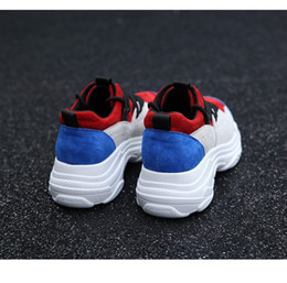 Wholesale New Korean Sneakers - Thick bottom sneakers female 2017 new Korean version of Harajuku ulzzang wild super shoes student casual shoes