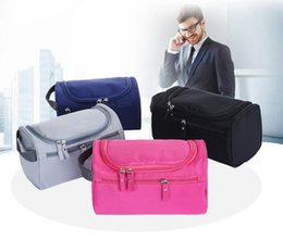 Wholesale manufacturer cosmetics - Manufacturers new outdoor portable travel men's wash bag waterproof large capacity storage bag cosmetic bag custom