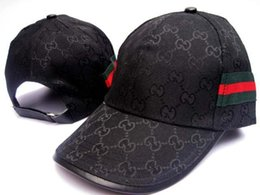 Wholesale hip hop hat brands - Designer brand baseball hat sun hat adjustable hip hop hat summer outdoor men and women.