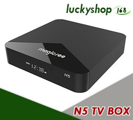 mini pc android dual core Coupons - Dual Wifi Smart TV Box Android 7.1 Amlogic S905X Quad Core 2G 16G Mini PC Bluetooth 4.1 4K Media Player Magicsee N5 Set Top Box 2.4G 5G Band